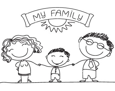 family-sketch-vector